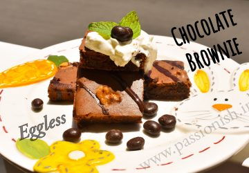 chocolate brownie eggless