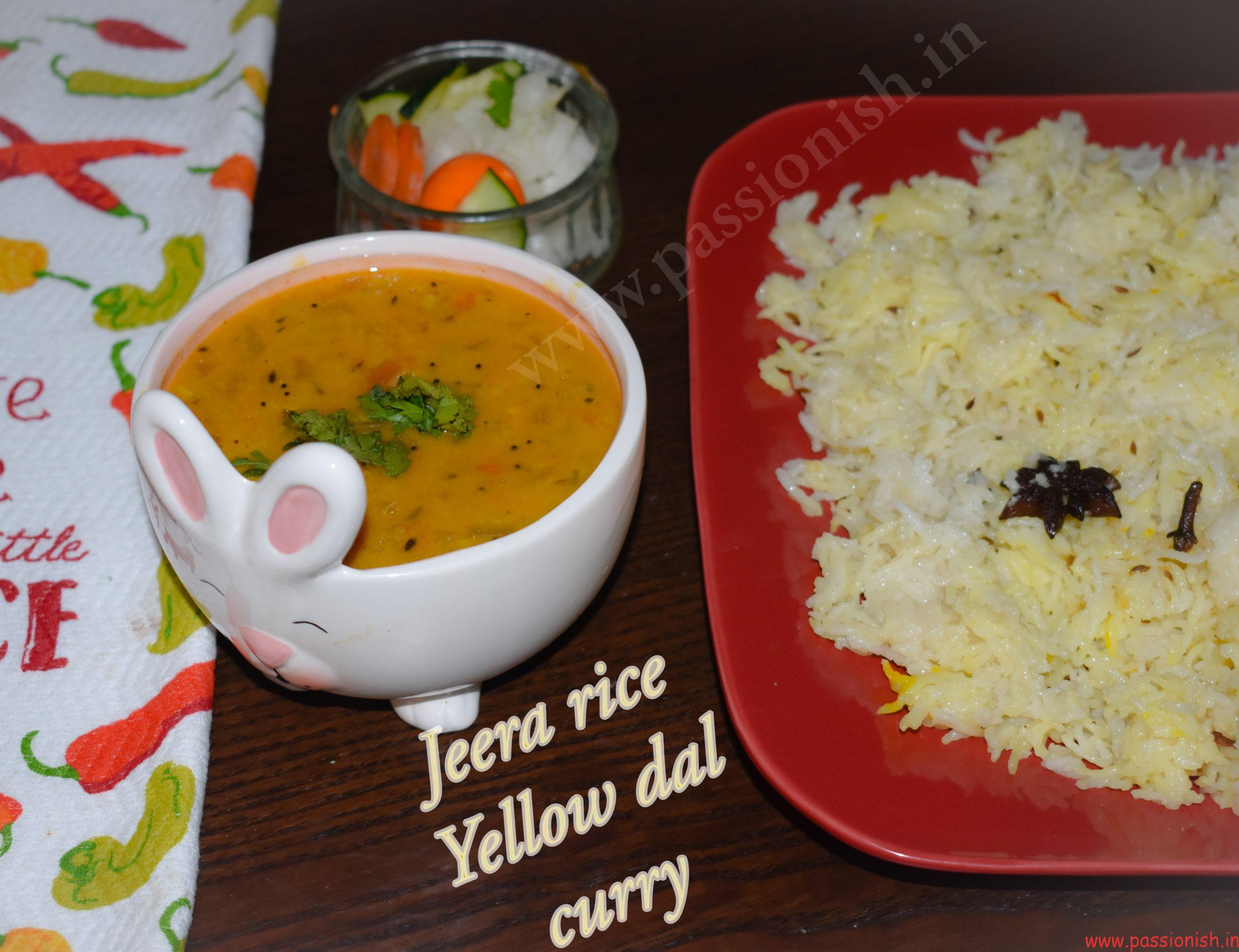 Yellow Dal / Lentil Curry