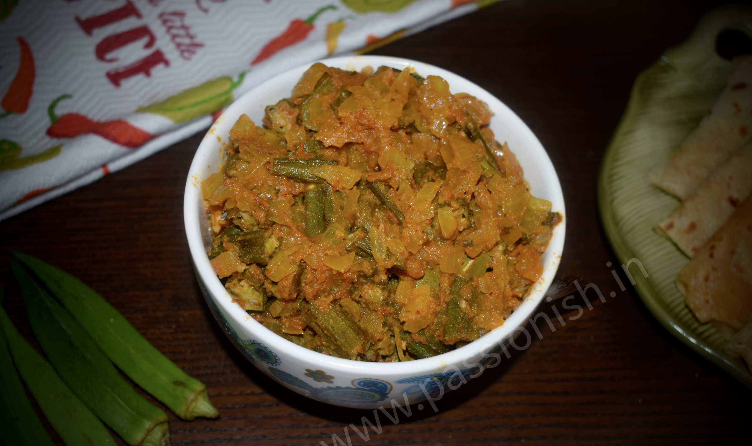 Bhindi or Lady's Finger Masala