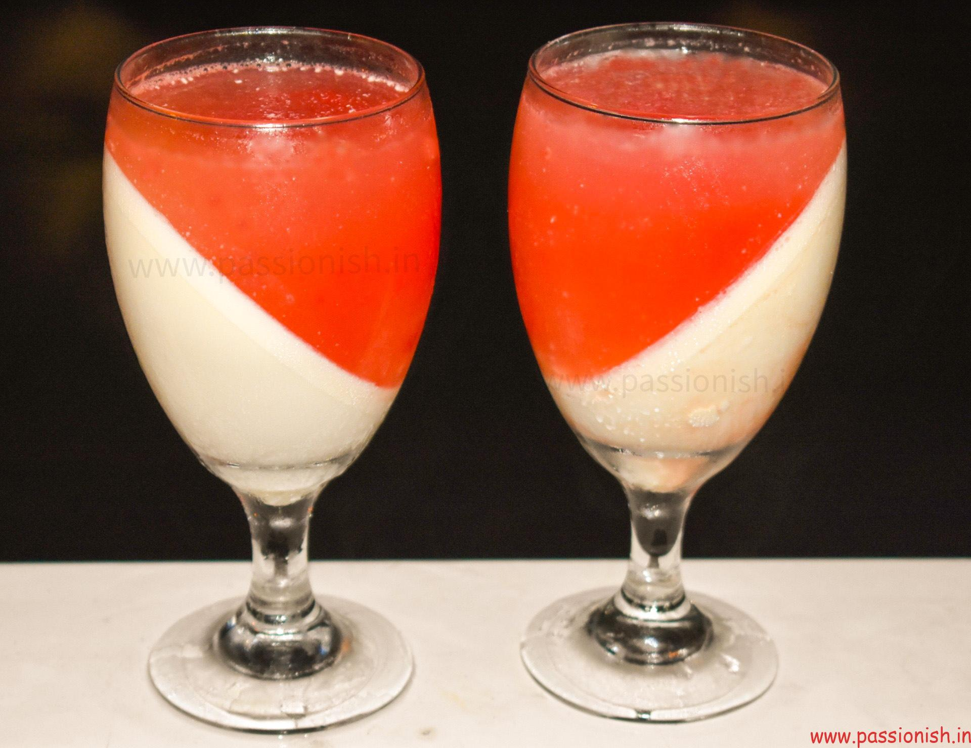 Watermelon Vanilla Panna Cotta Recipe