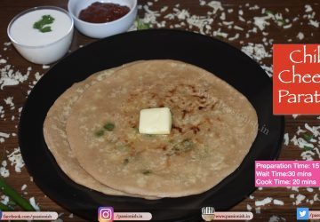 Chilli Cheese Paratha